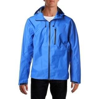Tommy Hilfiger Mens Solid Hooded Jacket