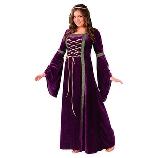 Renaissance Medieval Woman Halloween Costumes Plus Size - Plus Size (size  16-24)