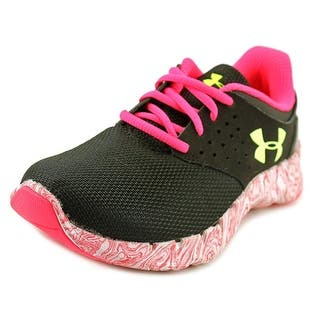 Under Armour UA GGS Flow RN Swirl Youth Round Toe Canvas Black Sneakers|https://ak1.ostkcdn.com/images/products/is/images/direct/0115f6a1dd088a94e9d31db51f157b5534082653/Under-Armour-UA-GGS-Flow-RN-Swirl-Round-Toe-Canvas-Sneakers.jpg?impolicy=medium