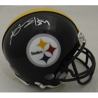 Antonio Brown Autographed Pittsburgh Steelers Riddell Mini Helmet JSA