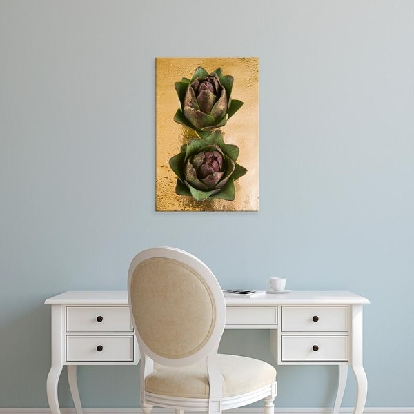 Easy Art Prints Nico Tondini's 'Two Artichokes' Premium Canvas Art