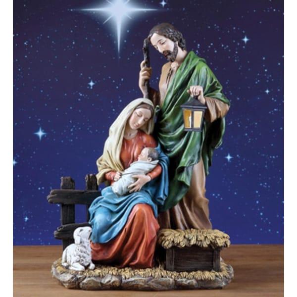 "Holy Family Christmas Nativity Figure 15"""