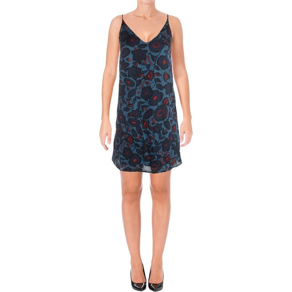 Shop Aqua Womens Casual Dress Floral Slip - Free Shipping On Orders Over   45 - Overstock.com - 18543347 5ab44c5ef