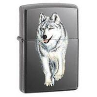 Zippo 769 Windproof Black Ice Wolf Lighter