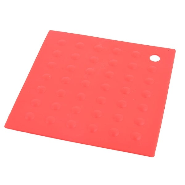 Shop Dining Room Silicone Square Heat Resistant Plate Mat