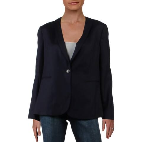 J. Crew Womens Blazer Wool Suit Separate - Navy - 12