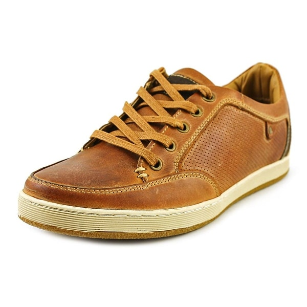 Steve Madden Partikal Round Toe Leather Sneakers
