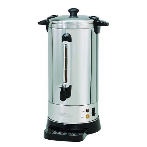 Nesco CU-50 Coffee urn, 50 Cups, Stainless Steel