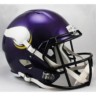 Minnesota Vikings Riddell Full Size Deluxe Replica Speed Football Helmet