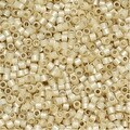 Miyuki Delica Seed Beads 11/0 - Silver Lined Light Honey DB1458 7.2 Grams - Thumbnail 0