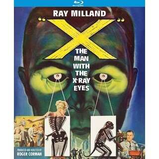 X: The Man with the X-Ray Eyes (1963) [BLU-RAY]