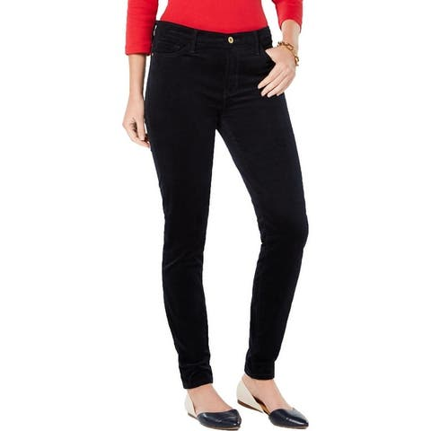 Tommy Hilfiger Womens Pants Skinny Corduroy