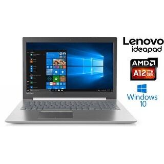 "Lenovo IdeaPad 320 AMD A12-9720P 1TB HD 8GB 15.6"" HD LED Laptop (Platinum Grey)"