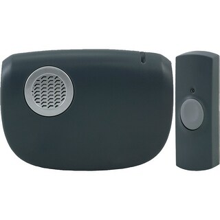 Ge Portable Door Chime With Doorbell Button