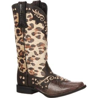 Crush™ by Durango® Women's Leopard Western Boot, #DCRD129