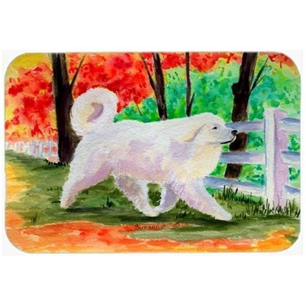 Carolines Treasures SS8472CMT 20 x 30 in. Great Pyrenees Kitchen Or Bath Mat