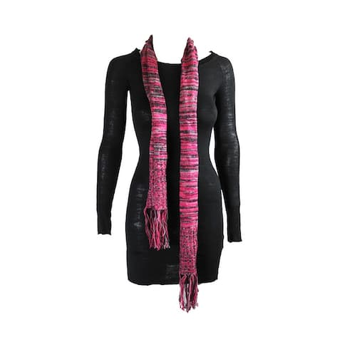 Energie Juniors Black Lindsay Tunic And Scarf S