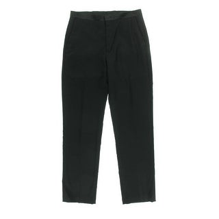 Ryan Seacrest Mens Wool Flat Front Dress Pants