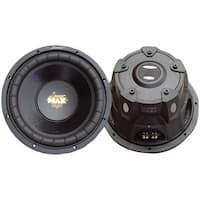 "LANZAR MAXP104D MaxPro Series Small 4ohm Dual Subwoofer (10"", 1,200 Watts)"