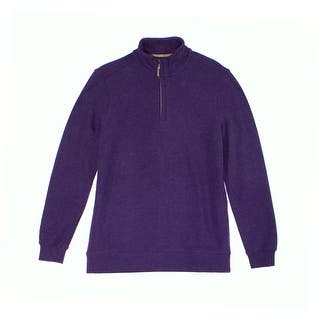 Tasso Elba NEW Purple Mens Size Small S 1/2 Zip Honeycomb Ribbed Sweater|https://ak1.ostkcdn.com/images/products/is/images/direct/012730d8a3976c866ccb1c720db63daf60447ea6/Tasso-Elba-NEW-Purple-Mens-Size-Small-S-1-2-Zip-Honeycomb-Ribbed-Sweater.jpg?impolicy=medium