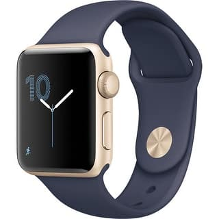 Apple Watch Series 2 38mm - Smart Watch with Heart Rate Monitor - Midnight Blue|https://ak1.ostkcdn.com/images/products/is/images/direct/01287581fe40a3425fe2643a2254de6476531987/Apple-Watch-Series-2-38mm---Smart-Watch-with-Heart-Rate-Monitor---Midnight-Blue.jpg?impolicy=medium