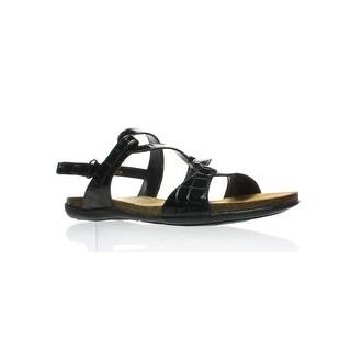 VANELi Womens Mambo 790002-001 Black Loafers Size 9 (AA,N)