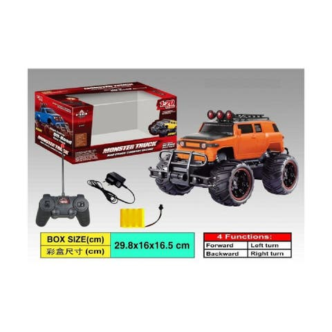 """11.5"""" Remote Control 1:20 Scale Cross Country Monster Truck with Charger"""