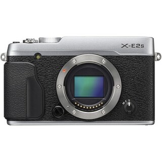 Fujifilm X-E2S Mirrorless Digital Camera (Body Only, Silver) (International Model)