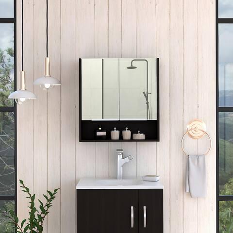 TUHOME JASPE Mirror Medicine Cabinet
