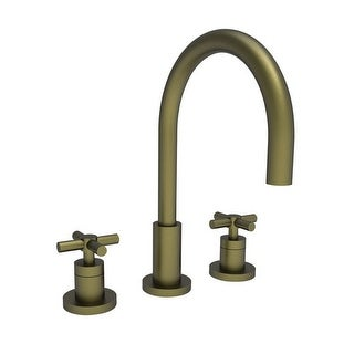 Newport Brass 990 East Linear Double Handle Widespread Lavatory Faucet with Meta