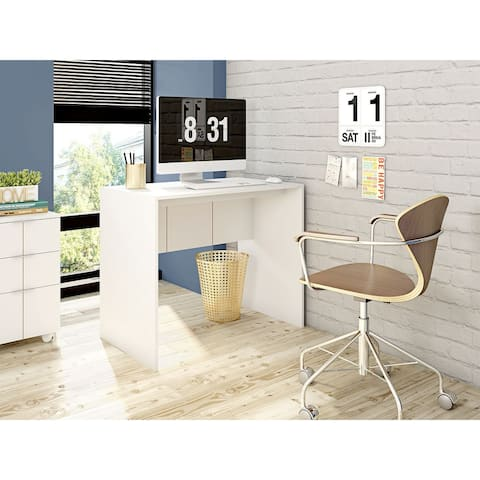 Mid Century Modern Cornelia 35.54 Wood Desk