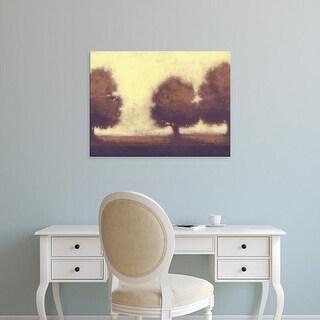 Easy Art Prints Norman Wyatt's 'Calm Meadow I' Premium Canvas Art