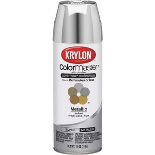 Krylon/Consumer Div Gloss Silver Spray Paint 51511 Unit: EACH
