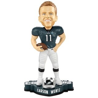 Philadelphia Eagles Carson Wentz #11 SBLII Bobblehead - multi