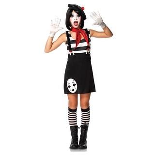Miss Mime Tween Costume