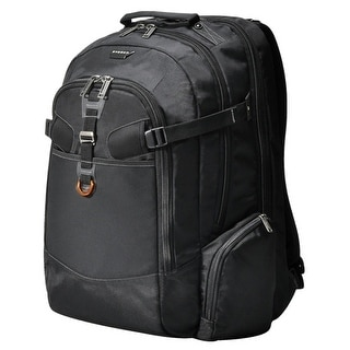 "Everki EKP120 Everki Titan EKP120 Carrying Case (Backpack) for 18.4"" Notebook - Black - Water Resistant - Checkpoint"