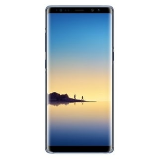 Samsung Clear Protective Cover for Galaxy Note8 - Blue Clear Protective Cover