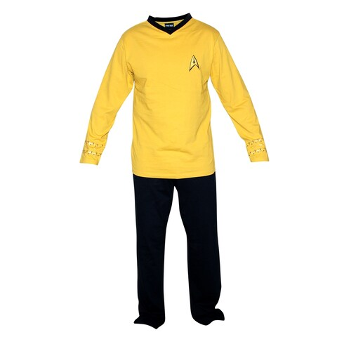 Star Trek Adult Officer Uniform Pajama Set