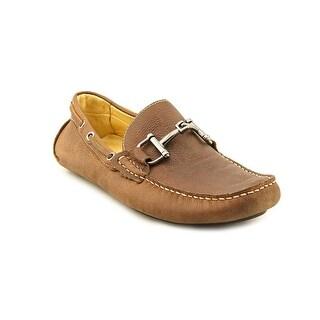 Mercanti Fiorentini Bit Moc Men Moc Toe Leather Brown Loafer