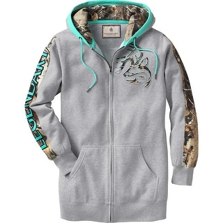Legendary Whitetails Ladies Full Zip Tunic Outfitter Hoodie