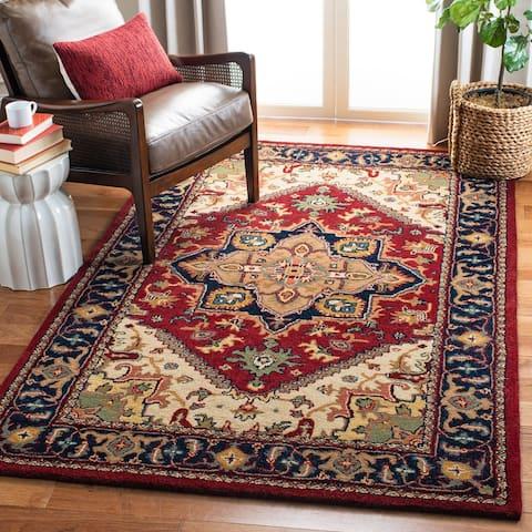 SAFAVIEH Handmade Classic Ethie Traditional Oriental Wool Rug