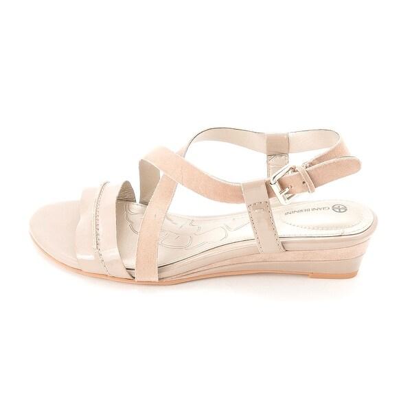 Giani Bernini Womens LIORA Leather Open Toe Formal Platform Sandals