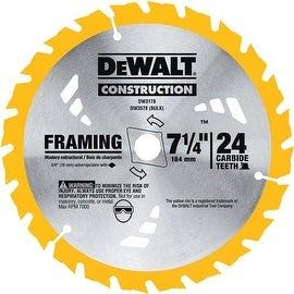 """DeWalt 7-1/4"""" 24T Carbide Blade"""