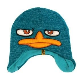 Phineas and Ferb Perry Agent P Knit Beanie Cap