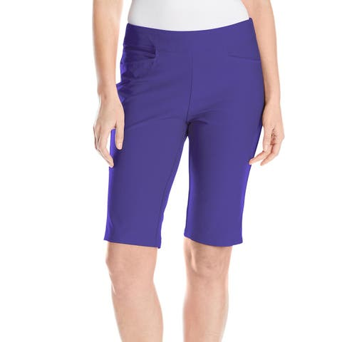 Adidas Purple Womens Size XS Pull On Stretch Golf Athletic Shorts