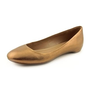 Ecco Mary Women Round Toe Leather Flats