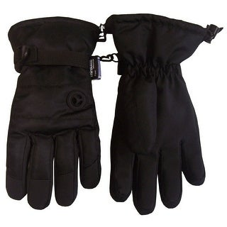 NICE CAPS Boys Thinsulate and Waterproof Colorblock Winter Glove with Air Hole