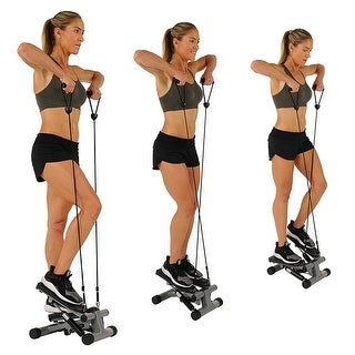 Cardio Stair Stepper Machine with Adjustable Resistance Bands Exercise Equipment For Indoor