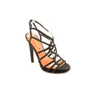 Via Spiga Promise Women Open Toe Canvas Platform Sandal