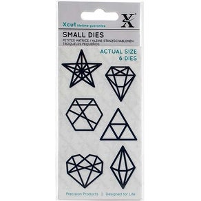 Geometric Shapes - Xcut Small Dies